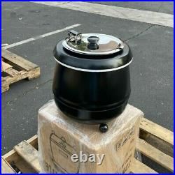 NEW Commercial Electric Soup Stew Kettle Pot Warmer Restaurant Buffet Catering
