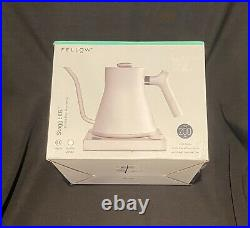 NEW Fellow Stagg EKG Electric Pour-Over Kettle WHITE