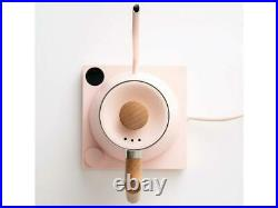 NEW Fellow Stagg EKG Warm Pink Electric Pour-Over Kettle with Maple Wood Handle