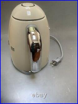 NEW Smeg Basic Electric Kettle Ivory