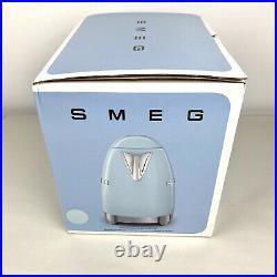 NEW Smeg KLF04PBUS 7-Cup Electric Variable Temperature Kettle Pastel Blue $320