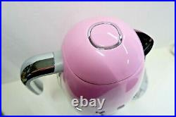 NEW Smeg KLF04PKUS 7-Cup Electric Variable Temperature Kettle Pink. See note