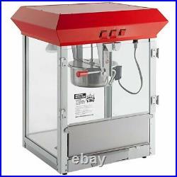 New Commercial Popcorn Maker Machine 8 oz Popper Concession Kettle Durable
