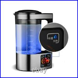 New Electric Water Hydrogen Ionizer Generator Machine 2L Kettle Filter For Drink