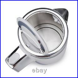 PureMate PM 2652 Electric Cordless Fast Boil Stainless Steel Jug Kettle