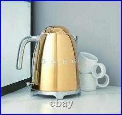 SMEG 50s Retro Style Electric Kettle KLF03GOUS Cordless Gold $230