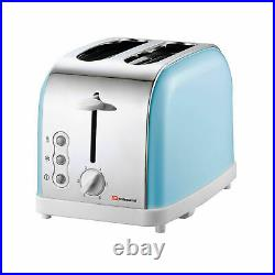 SQ Matching Kitchen Set Toaster 1.8L Electric Kettle Bread Bin Mug Tree Skyline