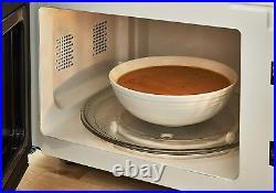 SWAN Cordless Kettle Toaster & Digital Microwave Nordic Set Grey/Wood Finish UK