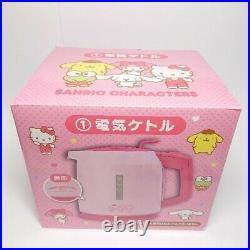 Sanrio Hello Kitty Pink Cooking Electric kettle Kuji Bandai Limited Rare