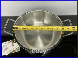 Silga Teknika 24cm (9.5) Risotto Pot Kettle Saucepan Casserole #17024