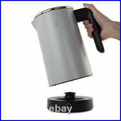 Smart Kettle WiFi, Stainless Steel, 3000 W, 1.8 liters, Chrome (Grey)