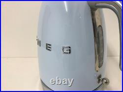 Smeg KLF03PBUK 50's Retro Pastel Blue Kettle, Unused, D/S