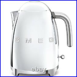 Smeg KLF03SSUS Electric Kettle, Polished Stainless Steel