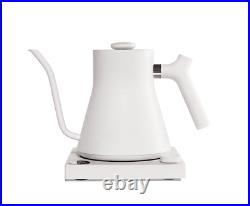 Stagg EKG Electric Gooseneck Kettle Brew Coffee Tea Pot Quick Heating White