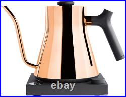 Stagg Ekg Electric Pour-Over Kettle For Coffee And Tea, Polished Copper, Variabl
