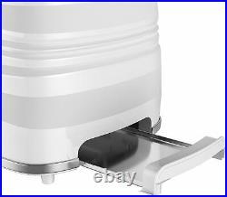 Swan Symphony 1.7Litre Jug Kettle 2 Slice Toaster & 20L Microwave Oven Set White