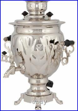 Traditional Russian Electric Samovar 3 Litres Tea Kettle Heater Boiler