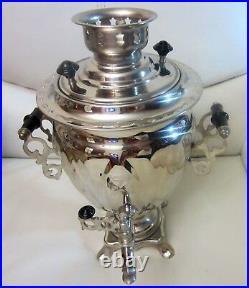 Traditional Russian Electric Samovar 3 Litres Tea Kettle Heater Boiler Vintage