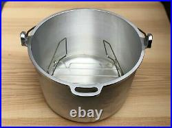 Vintage Guardian Service Cookware Kettle Oven With Rack and Glass Cover (NIB)