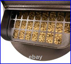 Wood Pellet Kettle Grill & Cover Rolling BBQ Electric Ignition Outdoor Cooking