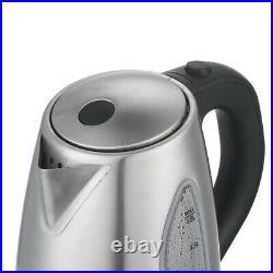 ZOKOP 1500W Electric Kettle 1.8L Stainless Steel Water Boiler Auto Shut Off